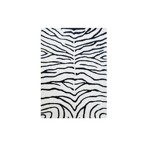 Koberec Zebra Black, 153x244 cm