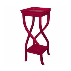 Odkládací stolek Kayla Red, 32x32x83 cm