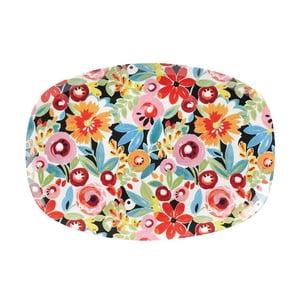Servírovací talíř Churchill China Collier Campbell Flowerdrop, 30x21 cm