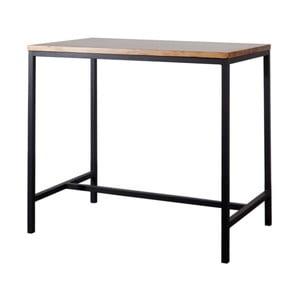 Barový/konzolový stolek s deskou z bukového dřeva indhouse Belasco