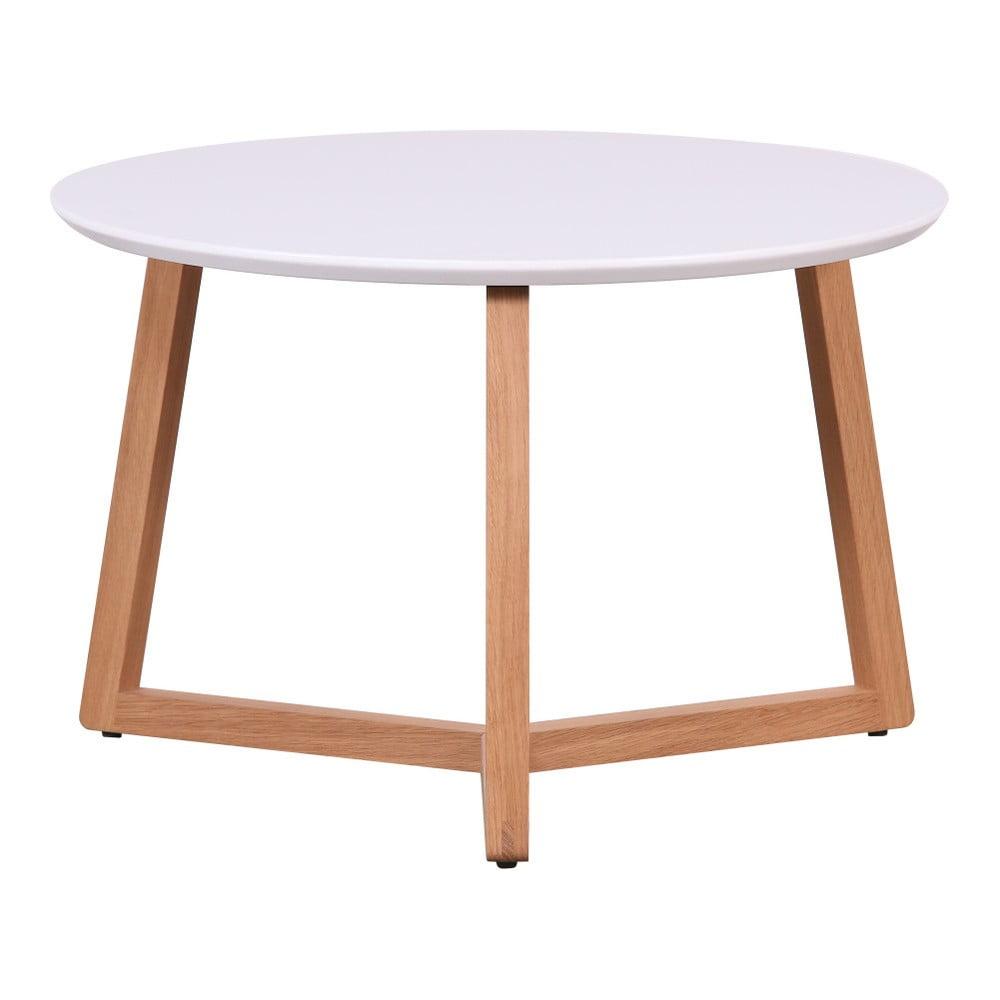 Konferenční stolek s bílou deskou Artemob Marina, 39 x 60 cm