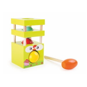 Dřevěná hračka Legler Hen Bead Hammer