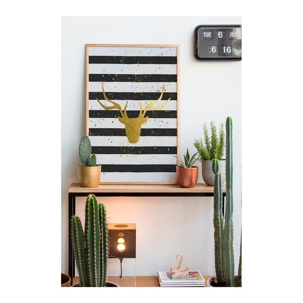 Obraz Really Nice Things Deer Stripes, 40 x 60 cm