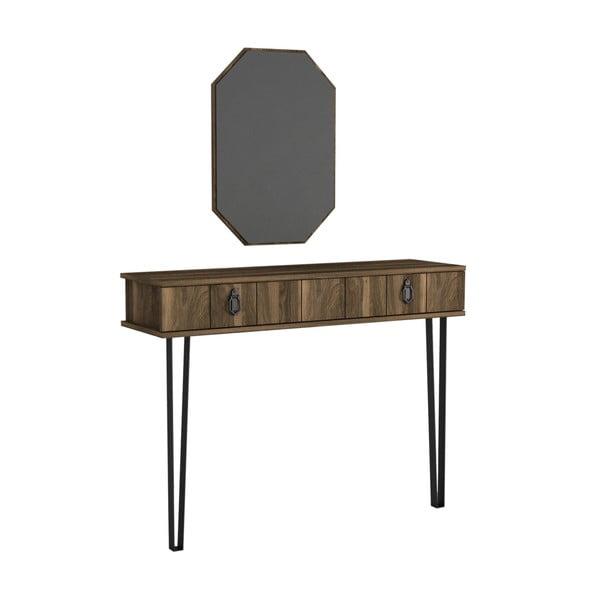 Set konzolového stolu sezrcadlem Lost