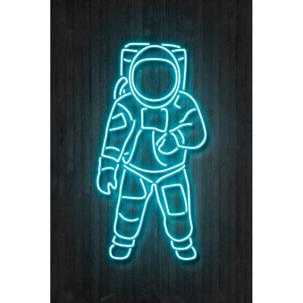 Plakát Blue-Shaker Neon Art Astronaut, 30 x 40 cm