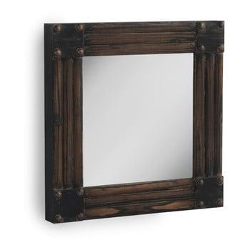 Oglindă de perete Geese, 57 x 57 cm, maro