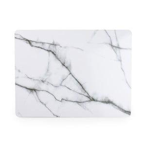Suport masă Salt&Pepper Marble, 40 x 30 cm, alb