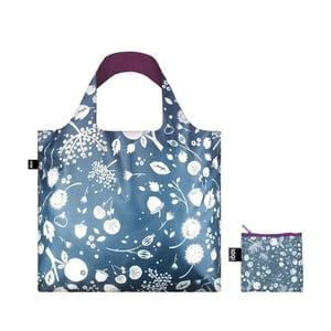 Skládací nákupní taška s kapsičkou LOQI Ash