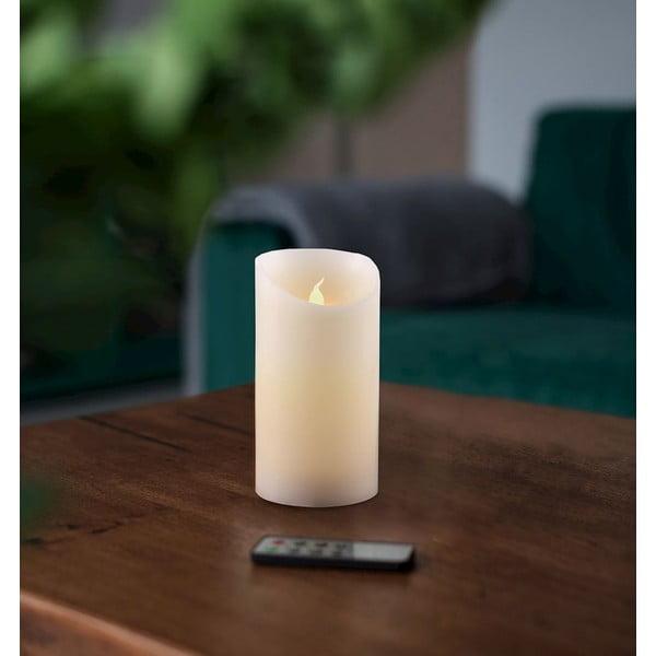 Subtle Love gyertya formájú LED lámpa távirányítóval, magasság 12,5 cm - DecoKing