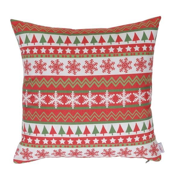 Vianočná obliečka na vankúš Apolena Shine Classic, 43×43 cm