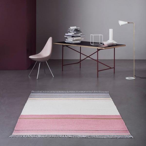 Vlněný koberec Linie Design Metallum Powder, 80x150cm
