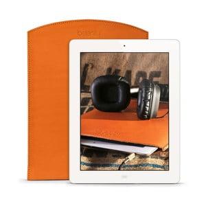 Kožený obal na iPad 2, 3, 4 Cognac