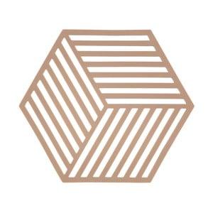 Suport pentru vase fierbinți ZONE Hexagon, portocaliu
