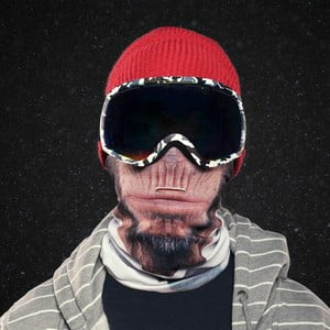 Mască de schi, Beardo Chimpanse