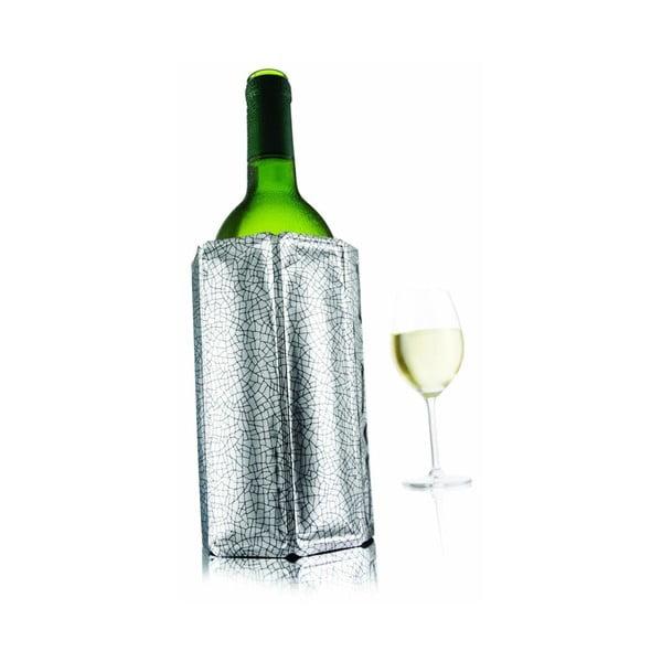 Chladící návlek na víno 0,7 - 1 litr, stříbrný