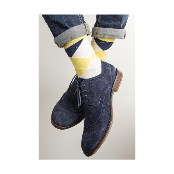 Sada 3 párů unisex ponožek Funky Steps Ermina, velikost39/45