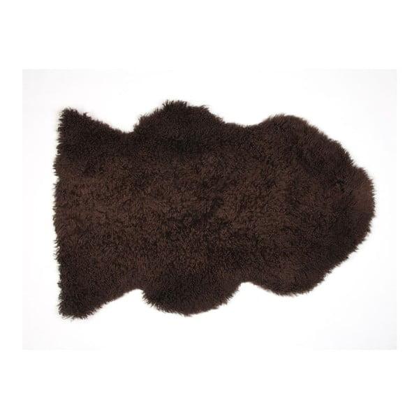 Ovčí kožešina Curly Chocolate, 90 cm