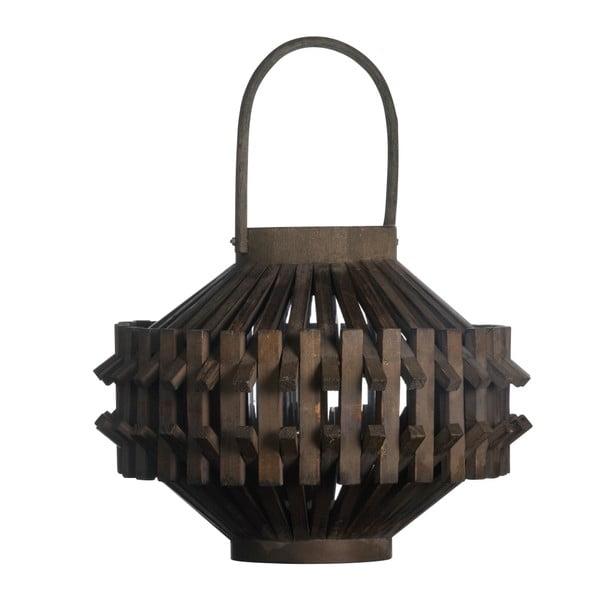 Dřevěná lucerna, 23x30 cm