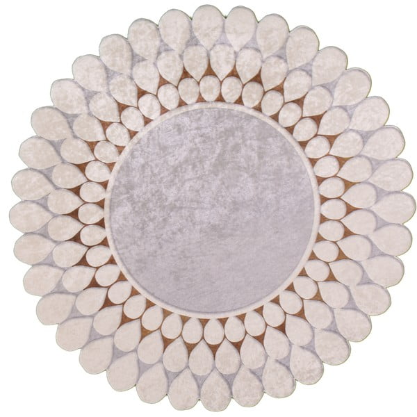 Odolný koberec Vitaus Zinno, ⌀ 80 cm