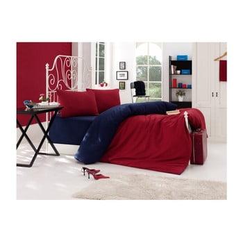 Lenjerie de pat cu cearșaf pentru pat dublu Daru, 200 x 220 cm de la EnLora Home