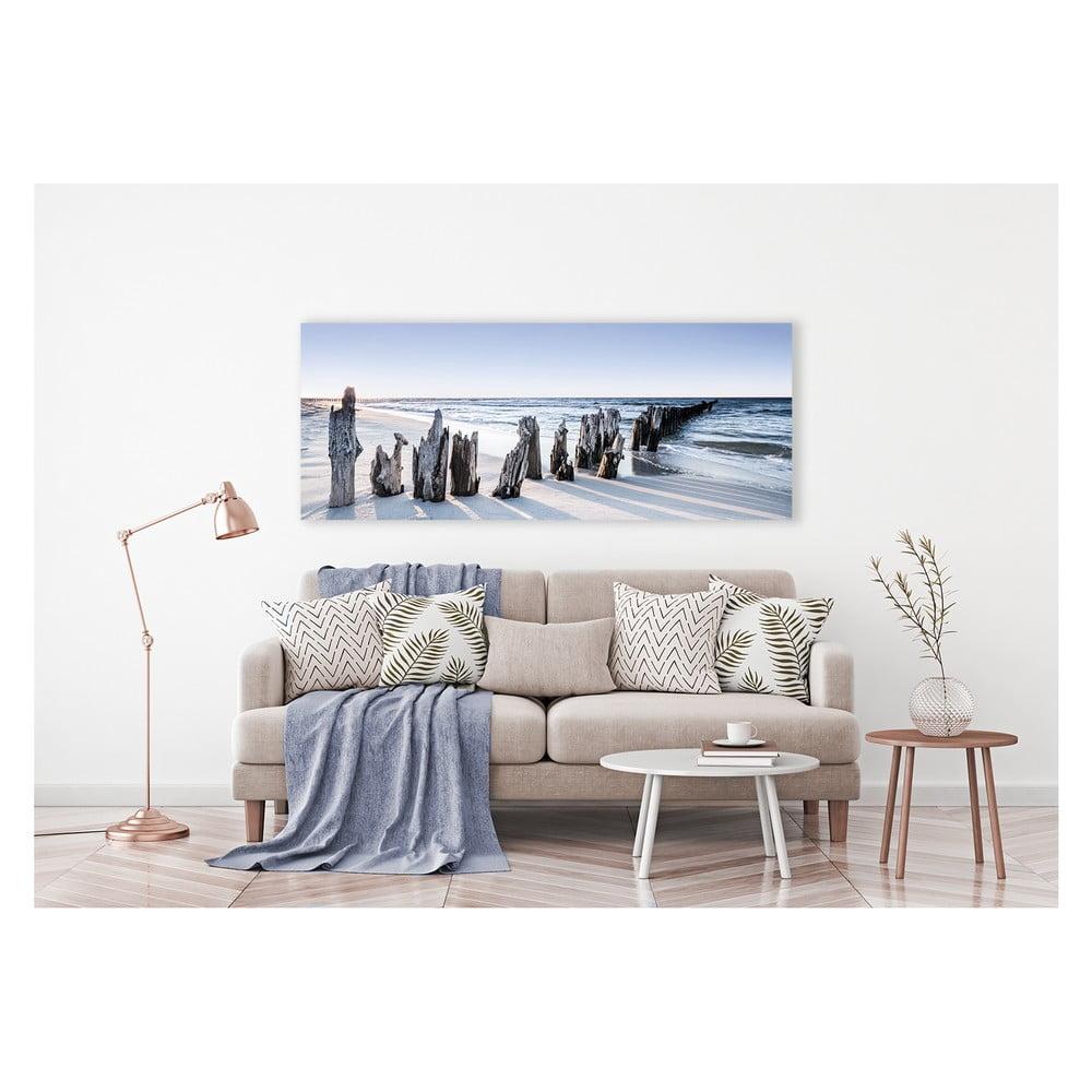 Produktové foto Obraz na plátně Styler Blue Sunset, 150 x 60 cm