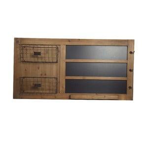 Dřevěná tabule s košíky Big Black