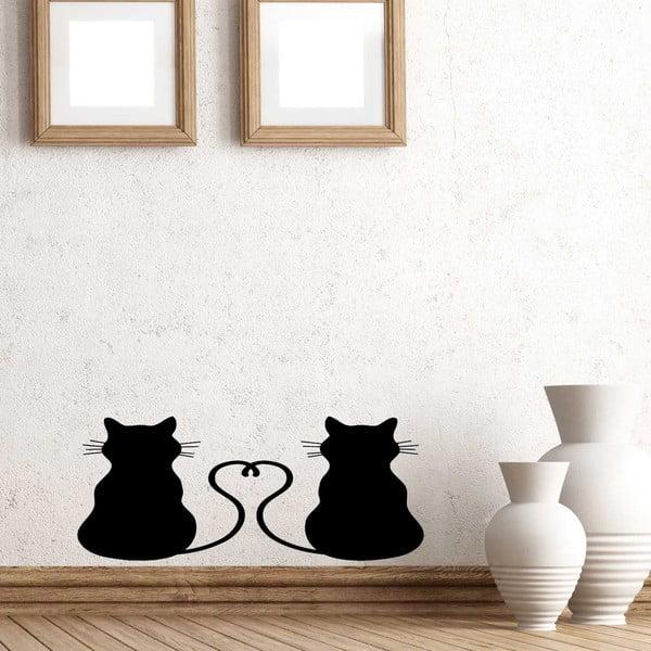 Vinylová samolepka na stěnu Kočičky