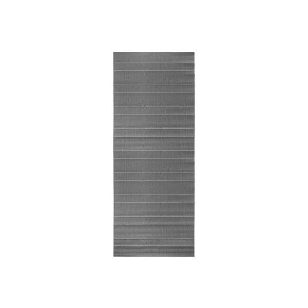Sivý behúň vhodný aj do exteriéru Hanse Home Sunshine, 80 × 200 cm
