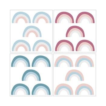 Set 20 de autocolante Dekornik Rainbow Color