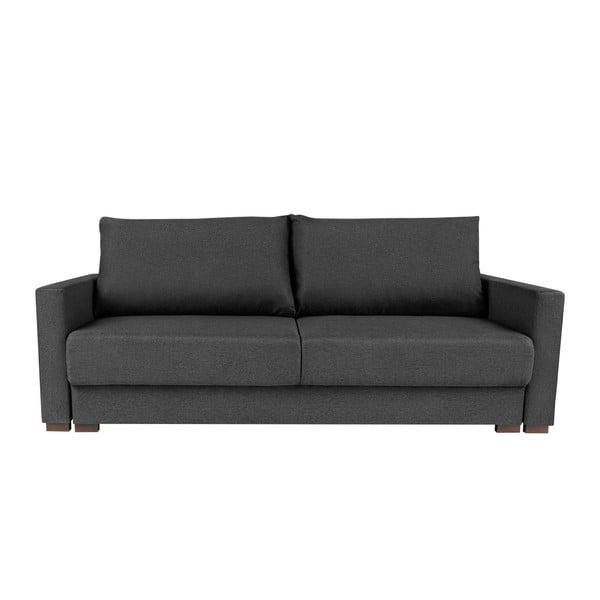 Giovanni szürke háromszemélyes kinyitható kanapé - Melart