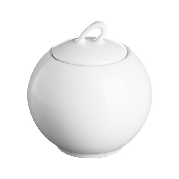 Biela cukornička z porcelánu Price&Kensington Simplicity