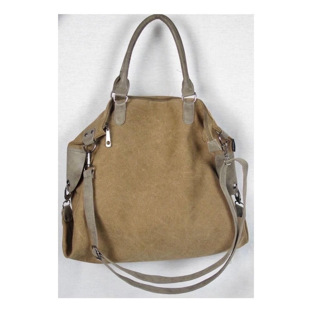 Hnědá plátěná taška Sorela Bushira