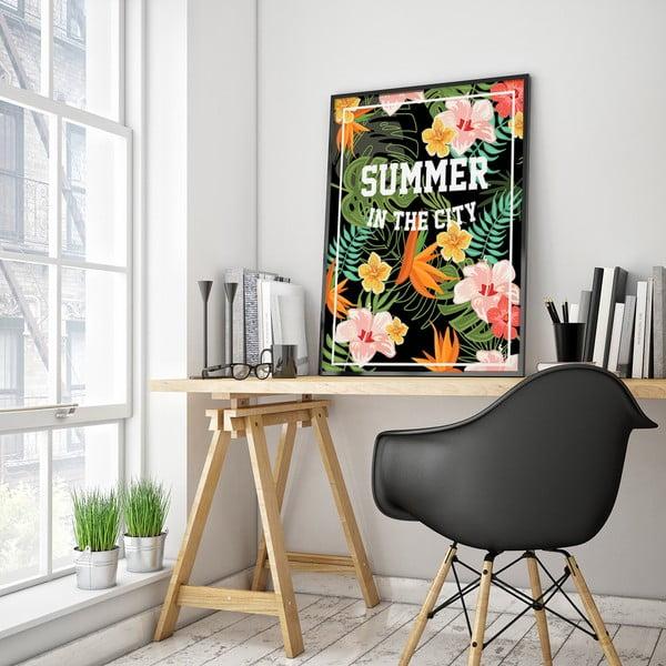Plakát Summer In The City, 30 x 40 cm