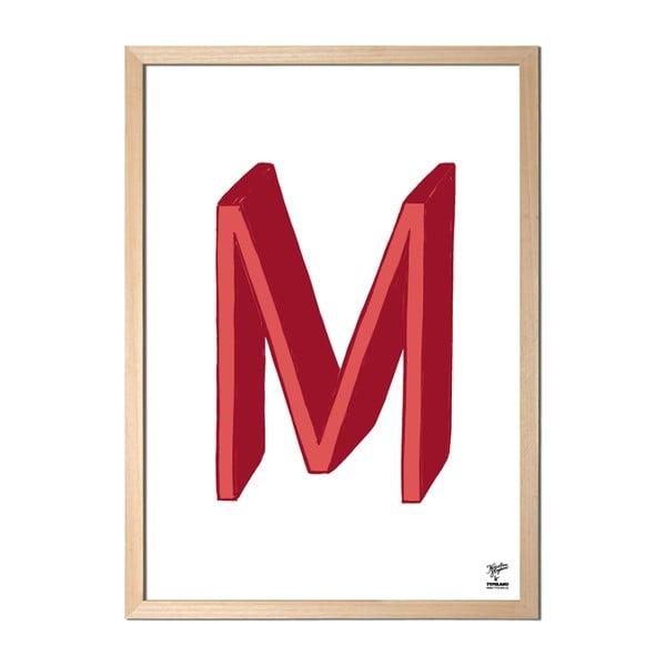 Plakát M od Karolíny Strykové