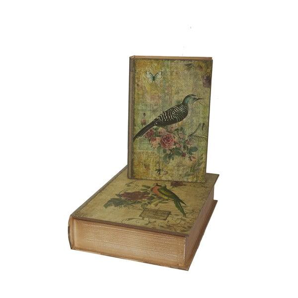 Book Box 2 darab tárolódoboz - Antic Line