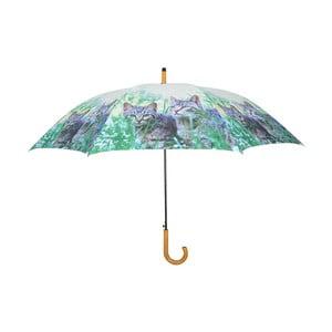 Deštník Ego Dekor Koťata v trávě, ⌀ 120 cm
