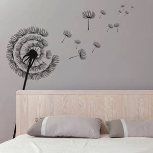 Samolepka na stěnu Modern Dandelion, 90x60 cm