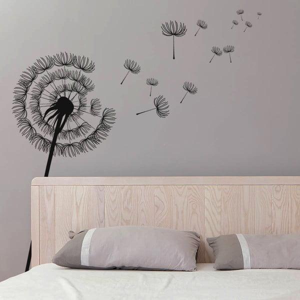 Samolepka na stěnu Modern Dandelion, 70x50 cm