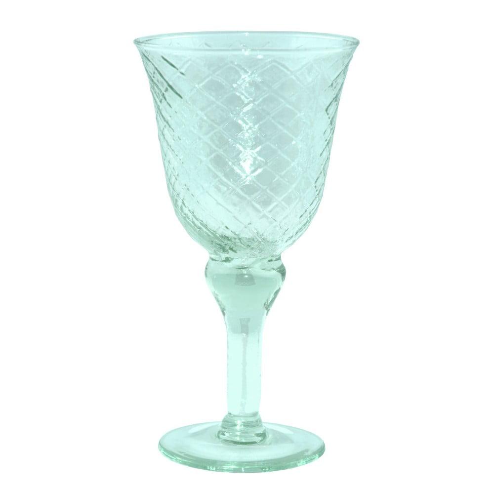 Sklenice z recyklovaného skla Ego Dekor Arlequin Aqua, 370ml