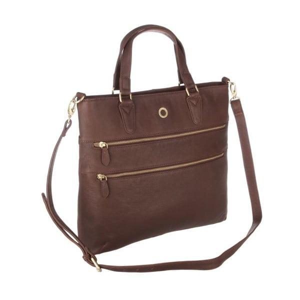 Kožená taška Phoebe Vintage Brown