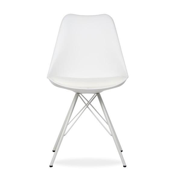 Židle Cross Metal White