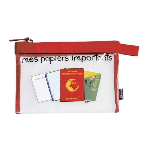 Taštička na cestovní dokumenty Incidence Mes papiers importants