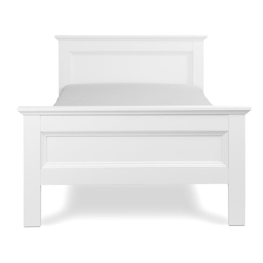 Bílá jednolůžková postel Intertrade Landwood, 90x200cm