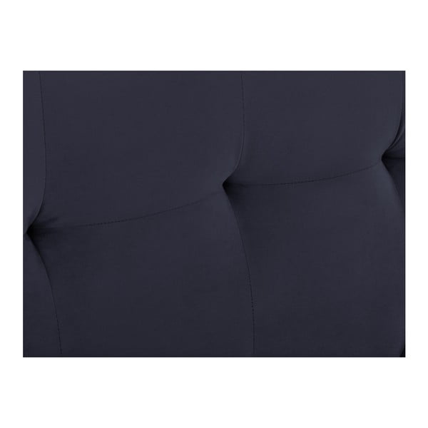 Tmavě modré čelo postele Kooko Home Basso, 120 x 140 cm