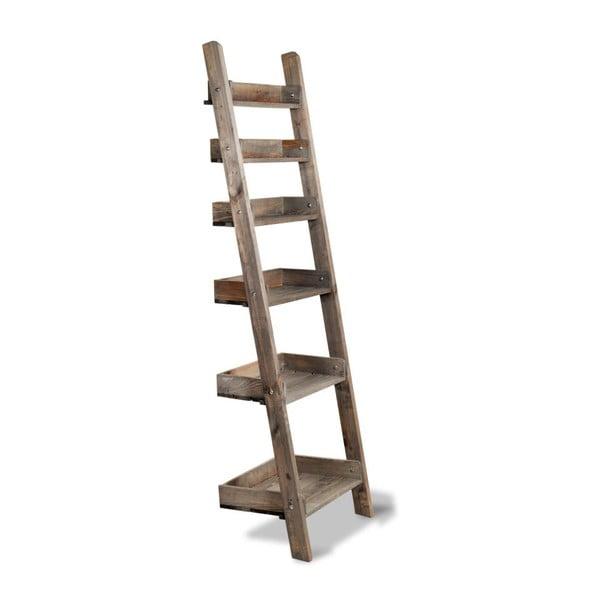 Dřevěný regál Ladder