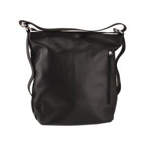 Kožená kabelka Dattero, černá
