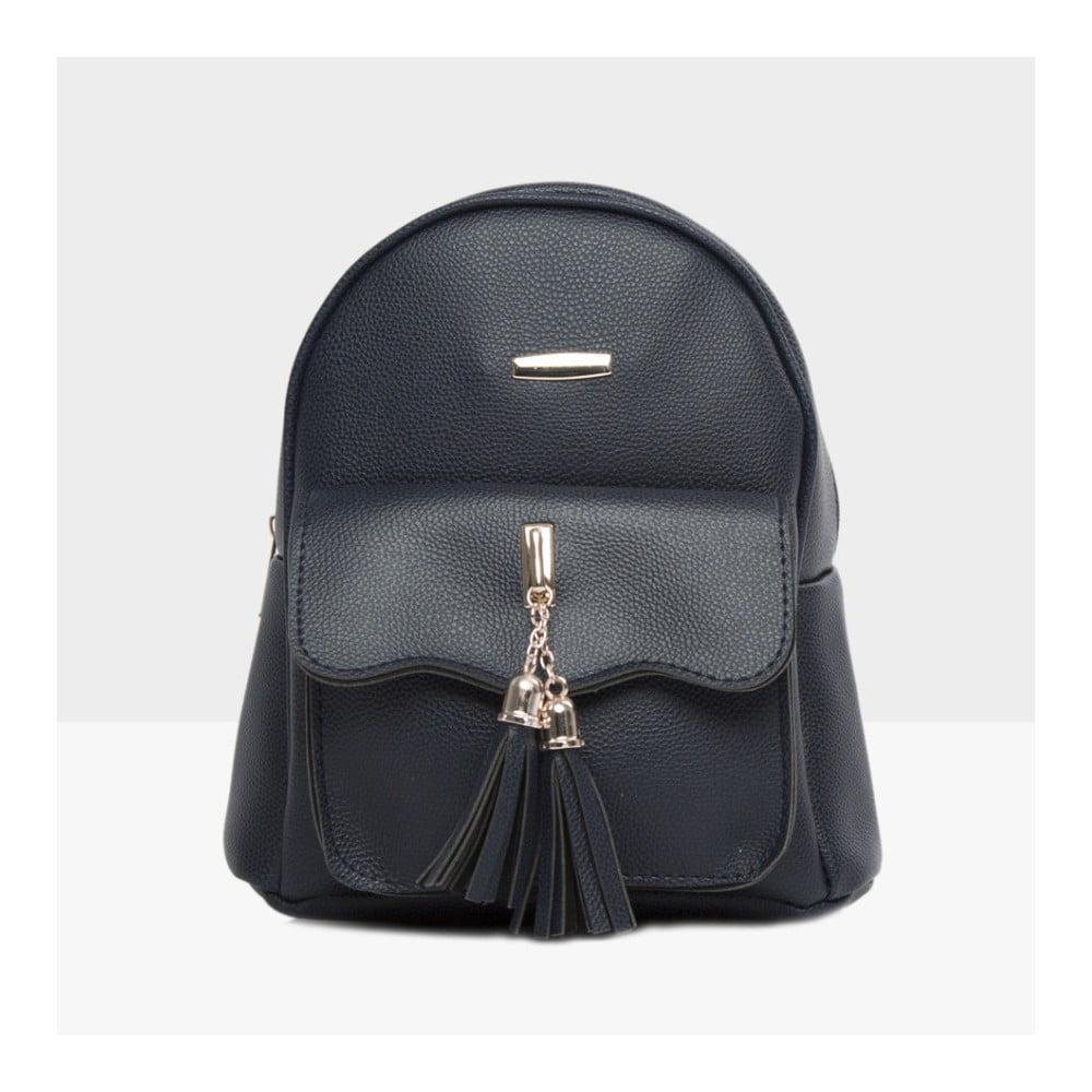 8370e0c1a1c Tmavě modrý dámský batoh Mori Italian Factory Alessia