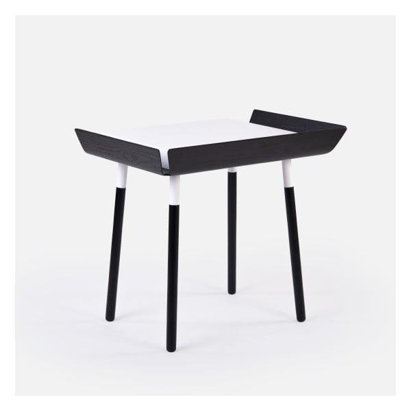 My Writing fekete-fehér íróasztal 1 fiókkal - EMKO