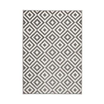 Covor Think Rugs Matrix Grey White, 160 x 220 cm, gri - alb