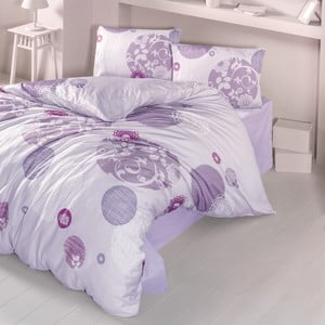 Lenjerie de pat cu cearșaf Yade, 200 x 220 cm